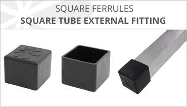 SQUARE EXTERNAL TUBE FERRULES